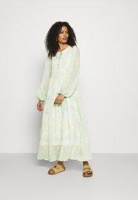 Selected Femme - SLFGEORGIA DRESS - Maxi dress - young wheat - 1