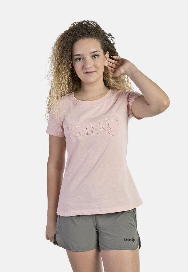 T-shirt con stampa - light rose