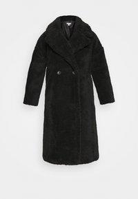 WHINNIE BORg - Zimní kabát - black