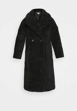 WHINNIE BORg - Klasický kabát - black