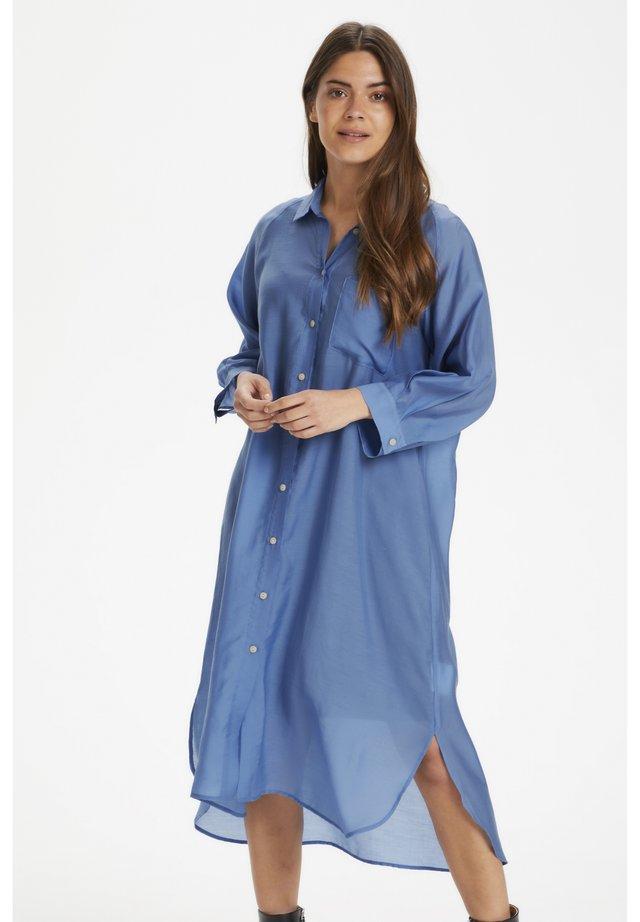 ETANEPW DR - Shirt dress - dusky blue