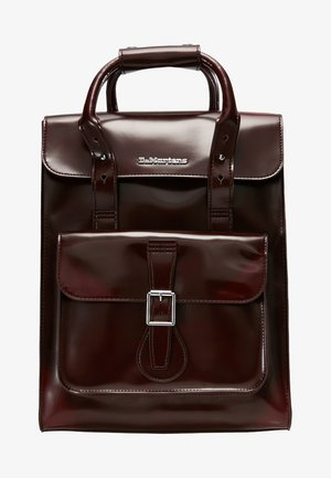 SMALL BACKPACK - Tagesrucksack - cherry red cambridge brush