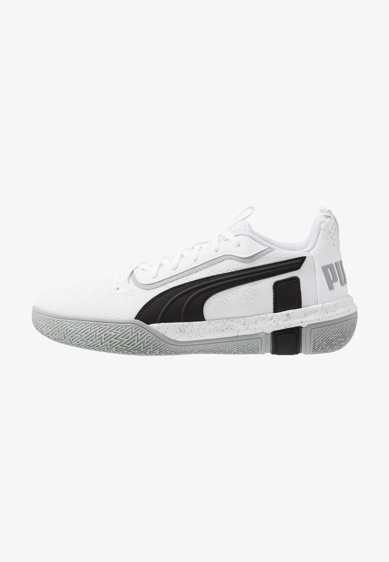 Puma - LEGACY LOW - Basketball shoes - quarry/black