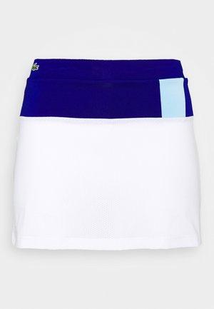 TENNIS SKIRT - Sportovní sukně - cosmic/white/greenfinch