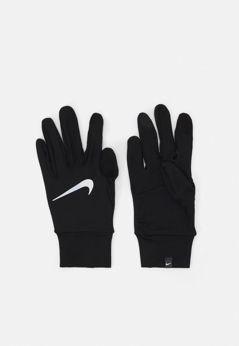 Nike Performance - WOMENS ACCELERATE RUN GLOVES - Fingerhandschuh - black/silver