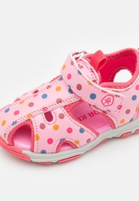 Color Kids - BABY VELDRO STRAP - Walking sandals - cotton candy - 5