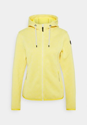 ADRIAN - Veste polaire - yellow