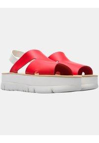 Camper - ORUGA  - Korkeakorkoiset sandaalit - rot - 1