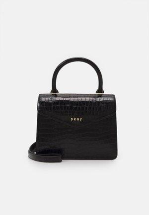 TOTE SAFFIANO - Handbag - black/gold