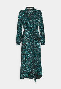 Diane von Furstenberg - STELLA - Vapaa-ajan mekko - dark green - 5
