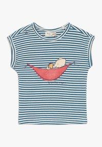 Smitten Organic - TEE CAP SLEEVE BABY ZGREEN - Print T-shirt - bamboo fresh - 0