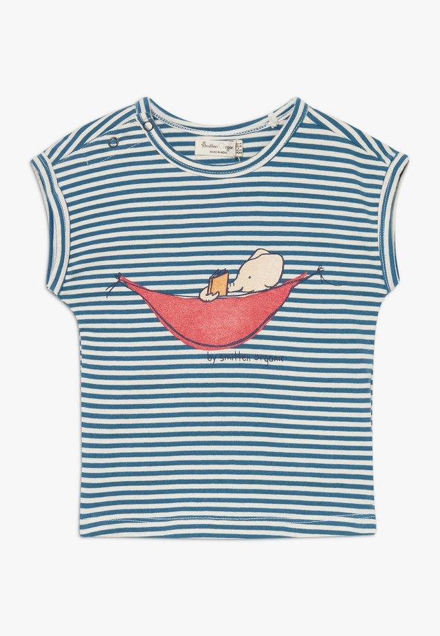 TEE CAP SLEEVE BABY ZGREEN - T-shirt z nadrukiem - bamboo fresh