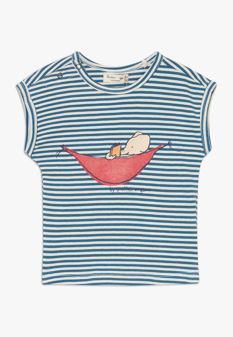 Smitten Organic - TEE CAP SLEEVE BABY ZGREEN - Print T-shirt - bamboo fresh
