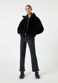 PULL&BEAR - Winter jacket - black - 1