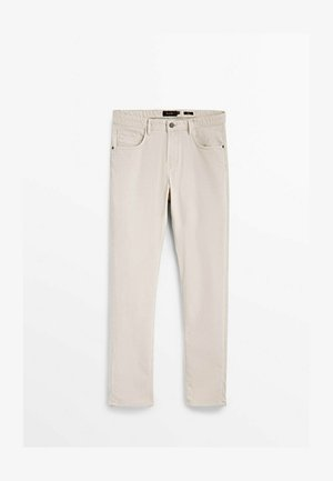 Slim fit jeans - beige