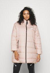Nike Sportswear - CLASSIC - Winter coat - pink oxford/black/white - 0