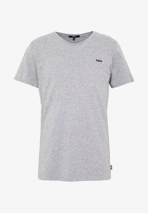HEIN - Jednoduché triko - grey melange