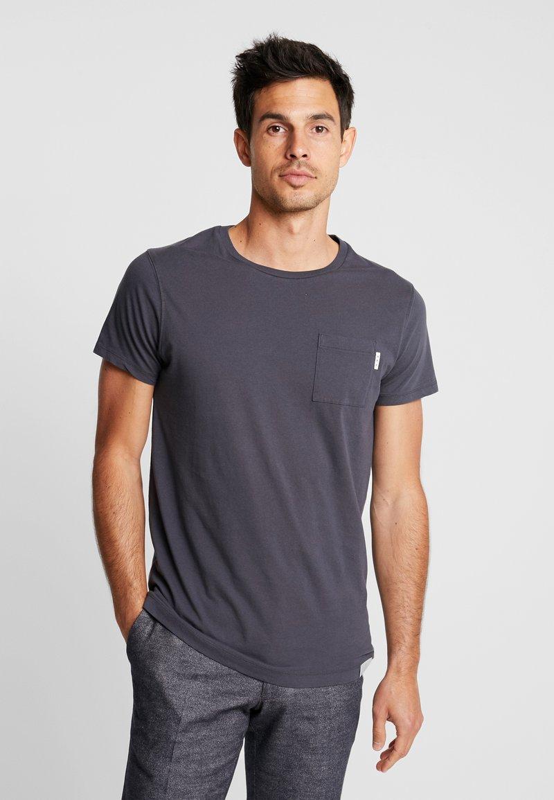 Scotch & Soda - POCKET TEE - T-Shirt basic - anthra