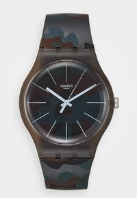 Swatch - CAMOUCLOUDS - Watch - brown - 0