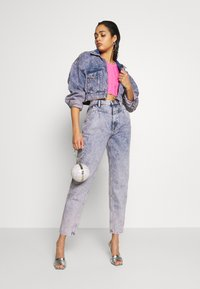 Pepe Jeans - DUA LIPA X PEPE JEANS - Jeansy Relaxed Fit - moon washed - 1