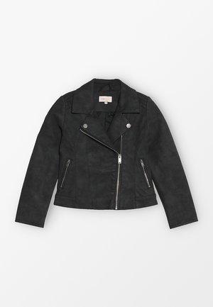 KONCARLA - Faux leather jacket - black