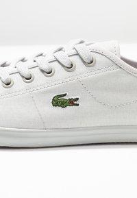 Lacoste - ZIANE - Sneaker low - light grey - 2
