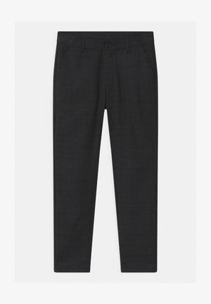 DUDE CHECK ANKLE  - Chinos - dark grey