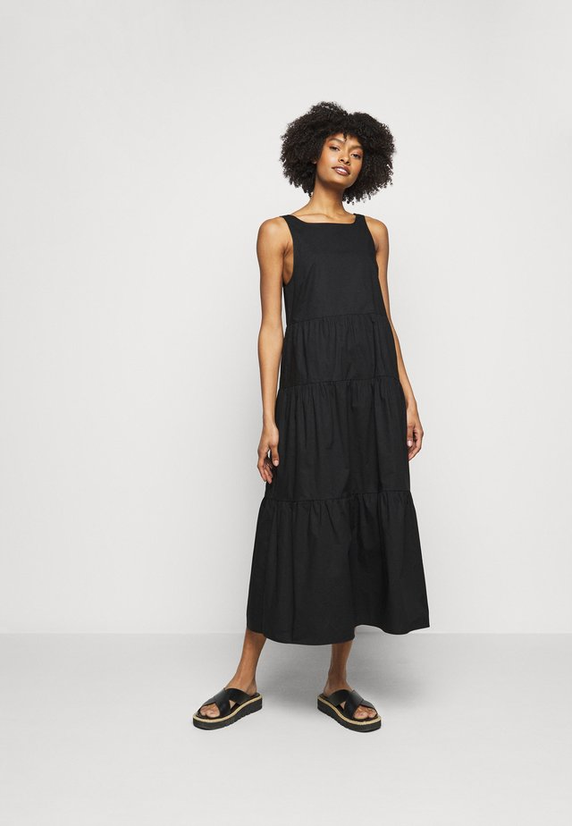 ABITO DRESS 2-IN-1 - Korte jurk - nero