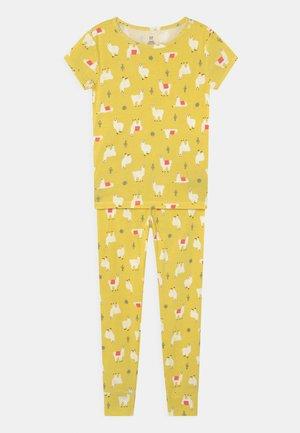 GIRLS LLAMA  - Pyjama set - yellow