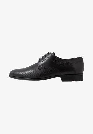 LEVIN - Elegantní šněrovací boty - schwarz