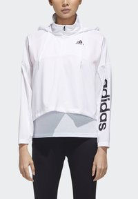 adidas Performance - ACTIVATED TECH WINDBREAKER - Windbreaker - white - 5
