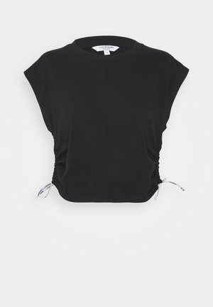 LOGO TIES - Pyjama top - black