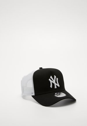 CLEAN TRUCKER NEYYAN - Cap - black/ white