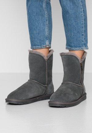 LUNA - Classic ankle boots - dark grey