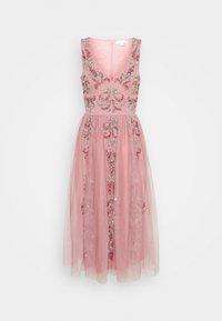 Maya Deluxe - V NECK EMBELLISHED DRESS - Robe de soirée - heather rose - 0