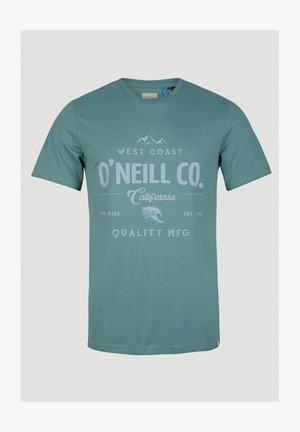 W-COAST - Print T-shirt - arctic
