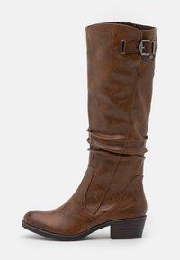 Marco Tozzi - Boots - cognac antic - 1