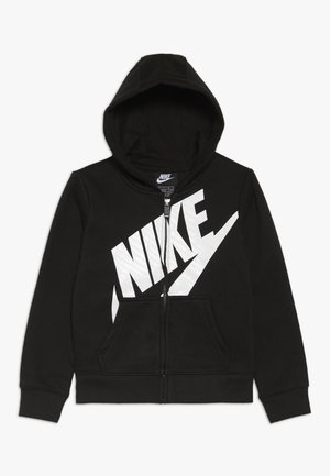 FUTURA FULL ZIP HOODIE - veste en sweat zippée - black