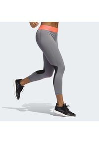adidas Performance - ALPHASKIN 7/8 LEGGINGS - Medias - grey - 2