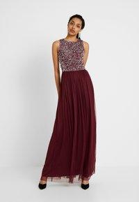 Lace & Beads Tall - PICASSO - Společenské šaty - burgundy - 0