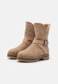 Anna Field - Platform ankle boots - beige - 2