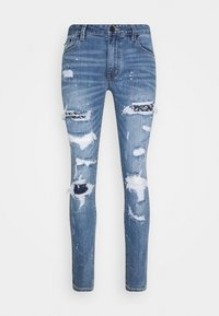 AMICCI - CAPRI CARROT FIT  - Jeans Tapered Fit - lightblue - 4