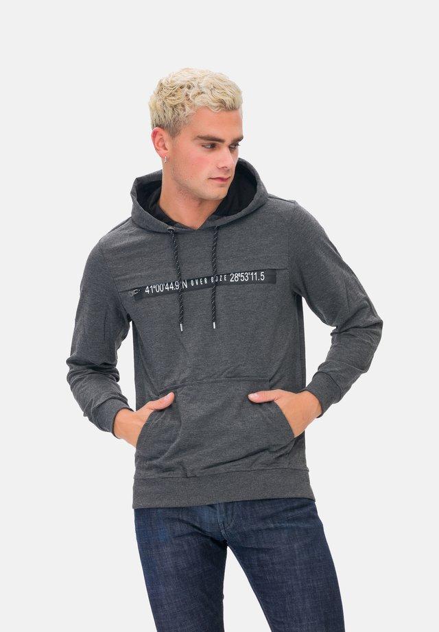 KAPUZENSWEATSHIRT MAN SWEATSHIRT - Felpa con cappuccio - grey