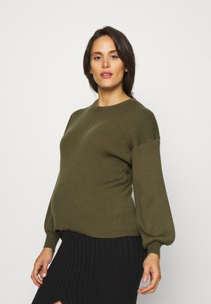 MATERNITY FRIENDLY EASY - Jumper - heritage green