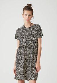 PULL&BEAR - Sukienka letnia - black - 0