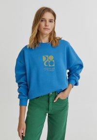 PULL&BEAR - Mikina - mottled royal blue - 0