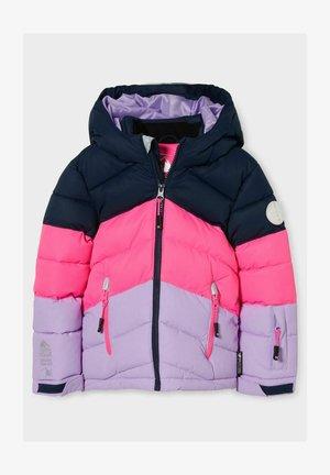 Winter jacket - blue / pink