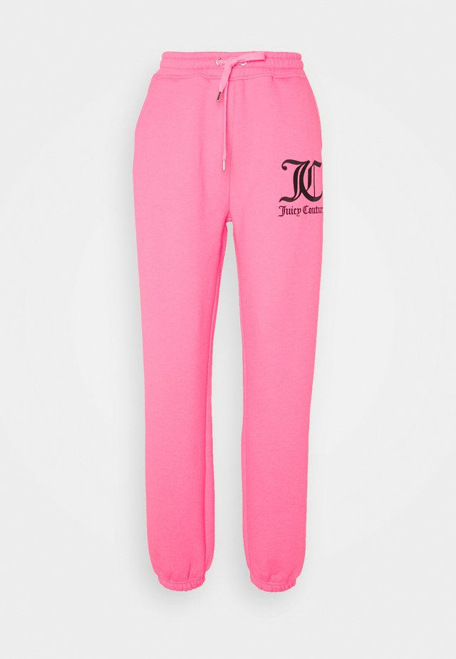 SOVEREIGN - Tracksuit bottoms - fluro pink