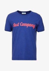 Best Company - BASIC  - Print T-shirt - blue - 3