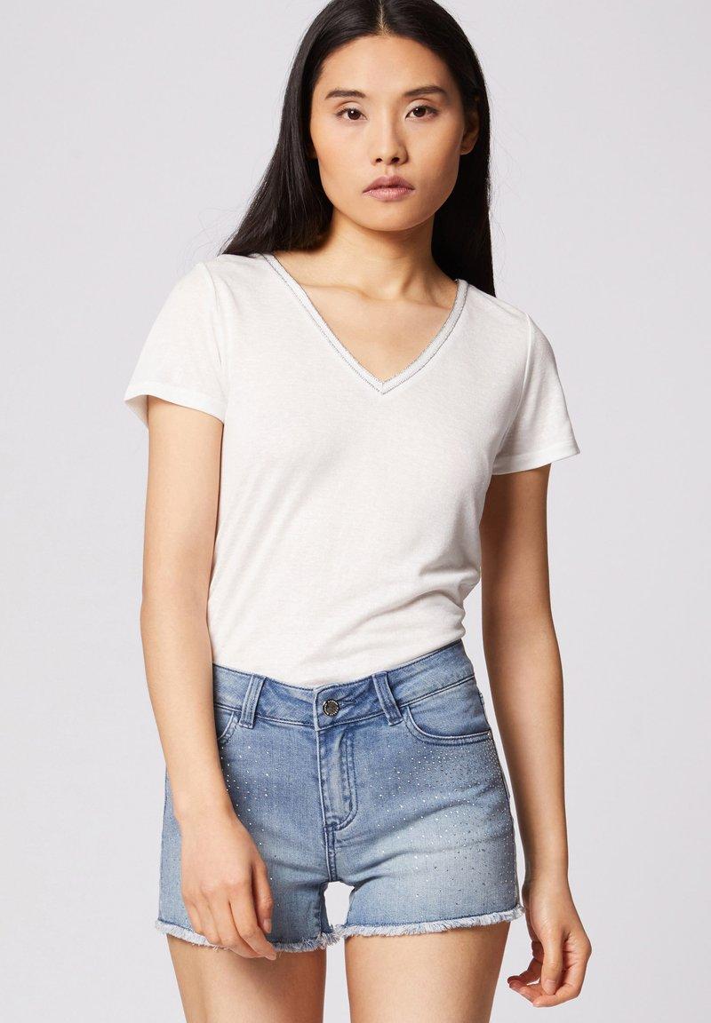 Morgan - Print T-shirt - off-white